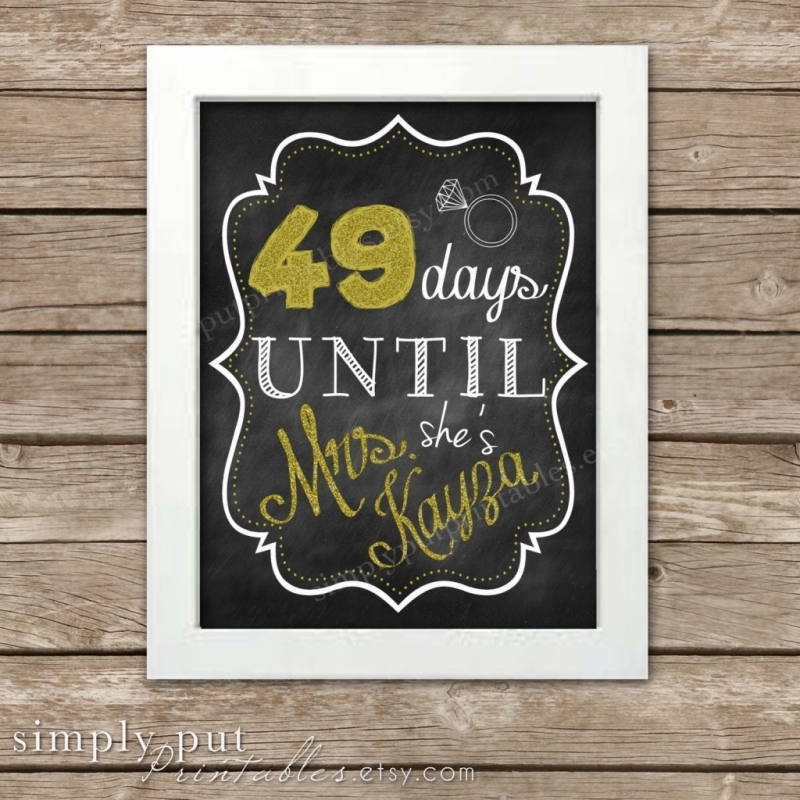 365 Day Calendar Countdown Calendar Printable 2016