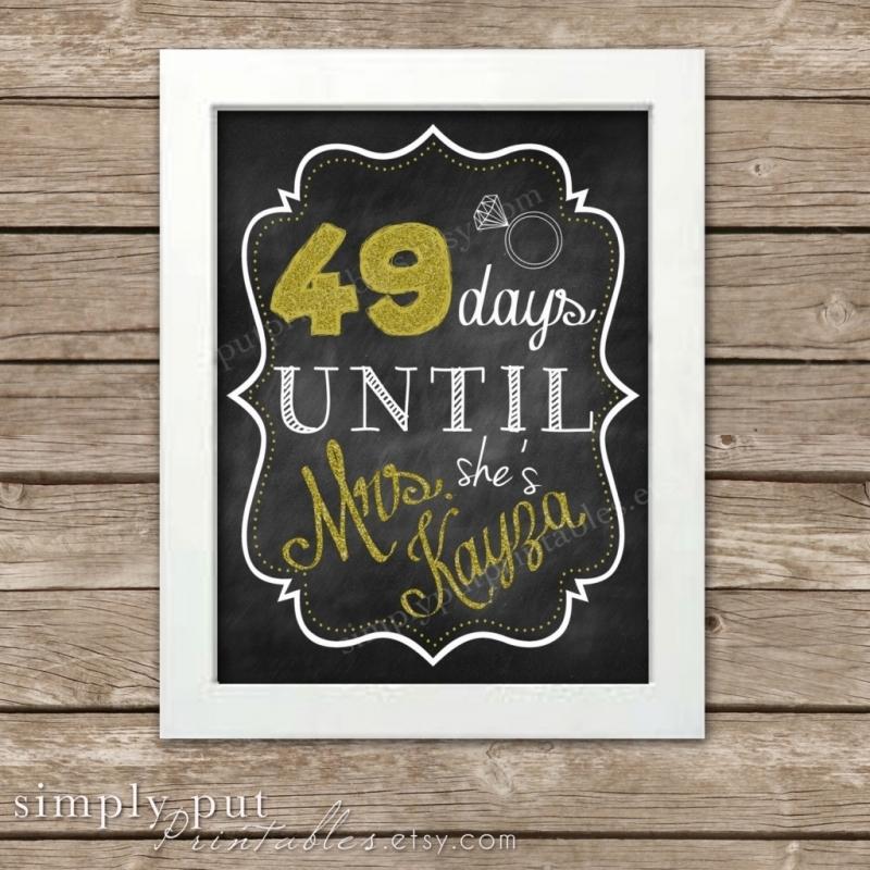 365 Day Calendar Countdown Calendar Printable 2016
