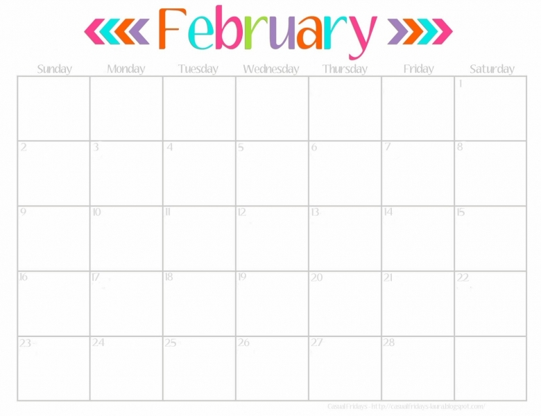8 Best Images Of Cute Printable 2016 Monthly Calendar Cute
