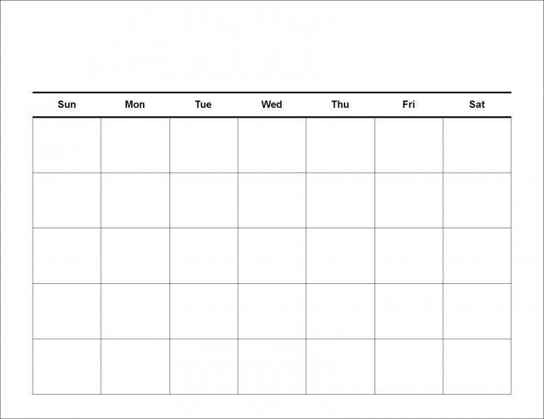 8 Best Images Of Extra Large Printable Blank Weekly Employee