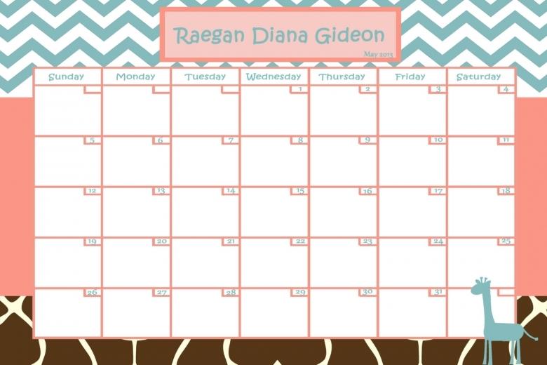 baby pool calendar baby due date calendar free calendar template