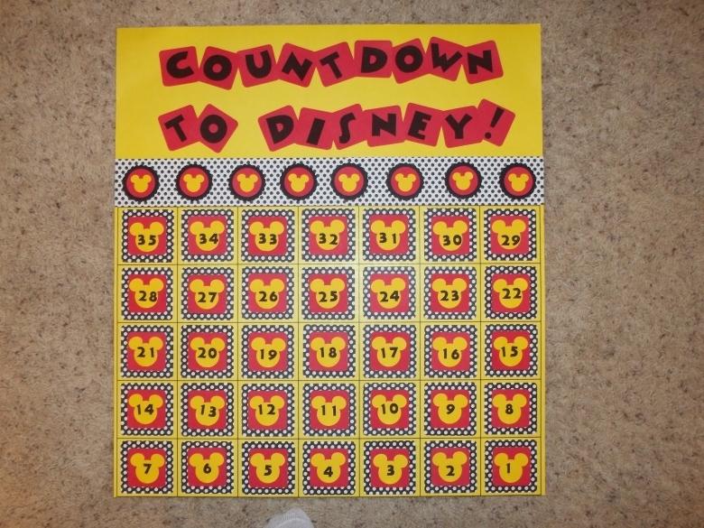 Disney Dreamin39 Disney Vacation Countdowns