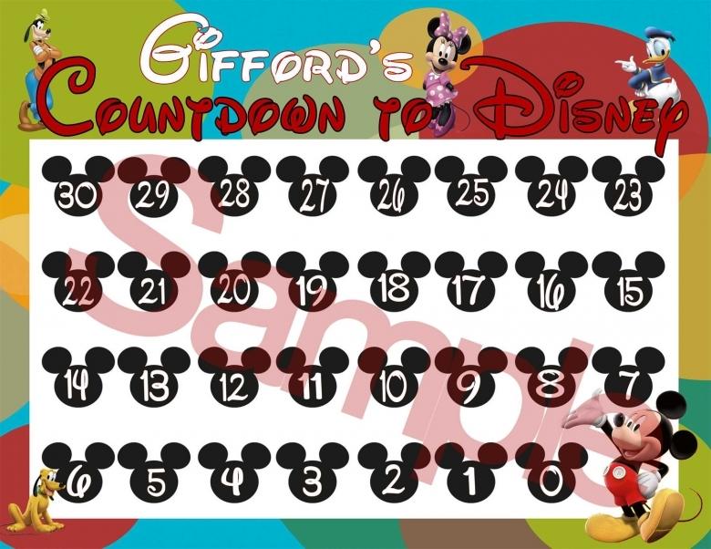 4 Best Images Of Printable Disney Calendar Maker Disney3abry