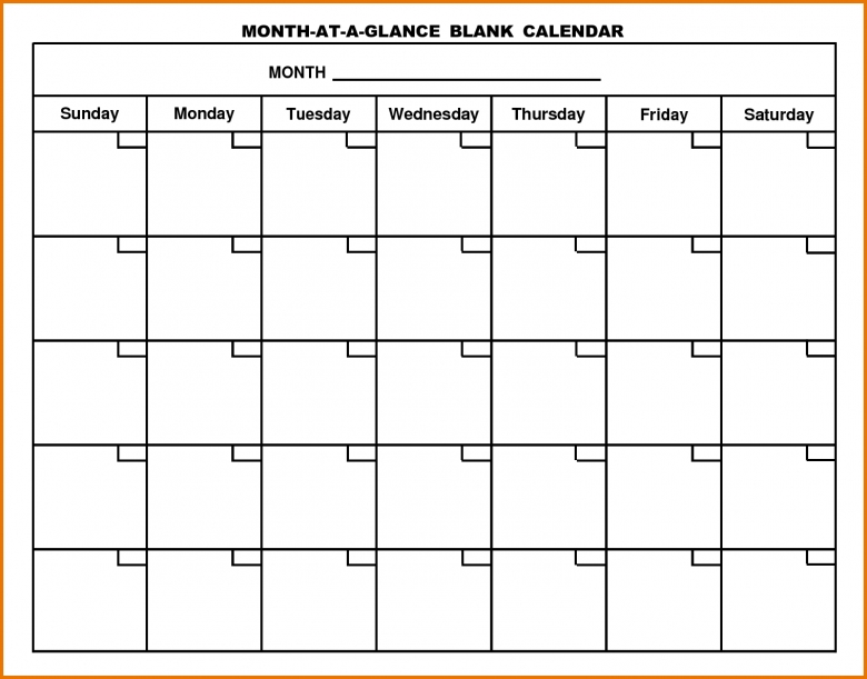 4 Month Calendar Template14609794 Scope Of Work Template3abry