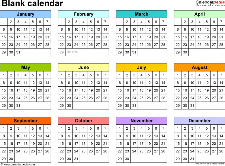 Printable multi month calendars free calendar template for Multiple month calendar template