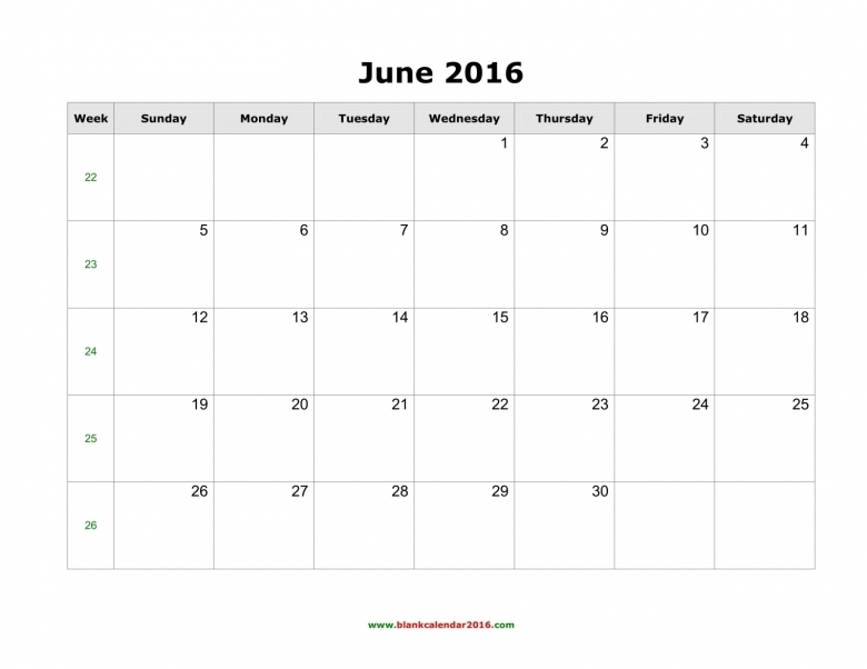 June Calendar Vertex : June calendar numbers printable free template