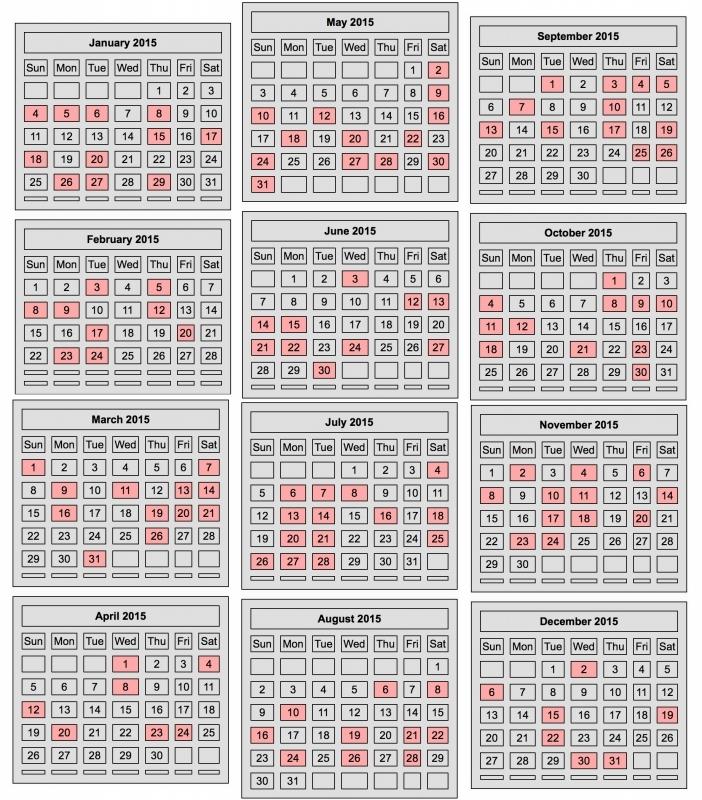 Chinese Lunar Calendar 2016 Yearly Calendar Printable  xjb