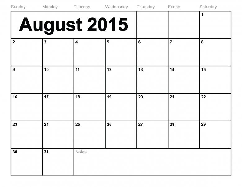 Printable Monthly Calendar  xjb