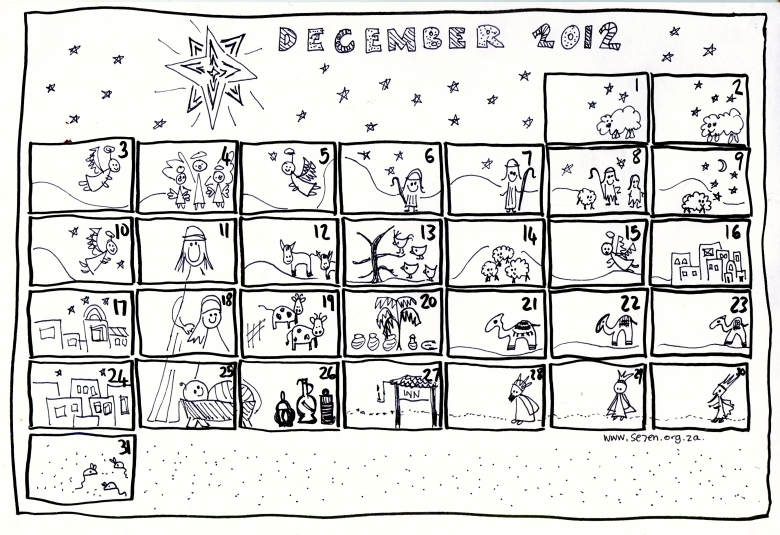Se7en39s December And Free Printable Advent Calendar Se7en Se7en3abry