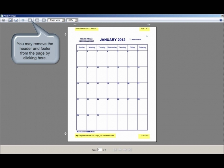 The No Frills Printable Calendar How To Print Our Calendars In 89uj
