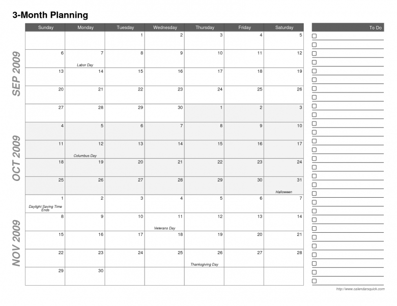 2016 12 Month Printable Calendar3abry