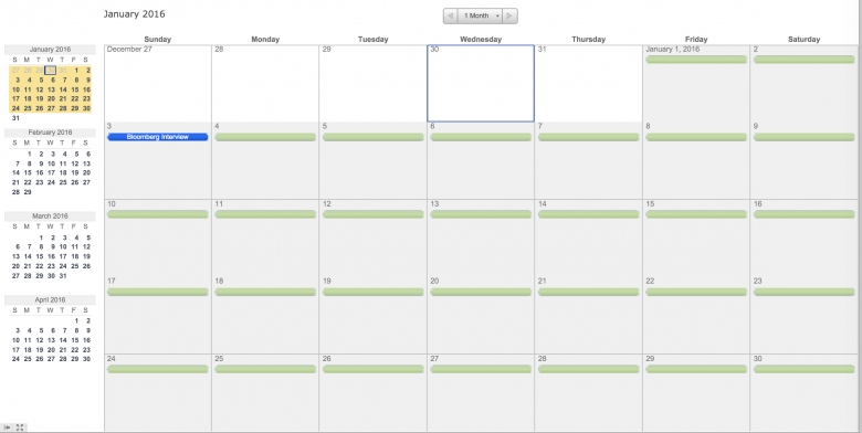 Make A 2016 Calendar In Excel Includes Free Template  xjb