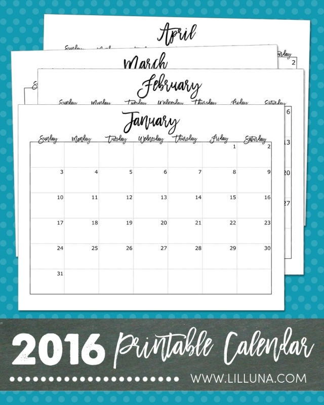 1000 Ideas About Free Printable Calendar On Pinterest Printable3abry