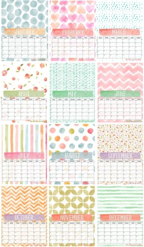 1000 Ideas About Printable Calendars On Pinterest Free3abry
