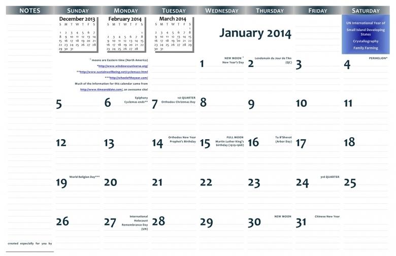 2014 11x17 Free Printable Wall Calendar Pdf Format Jazzsoup42  xjb