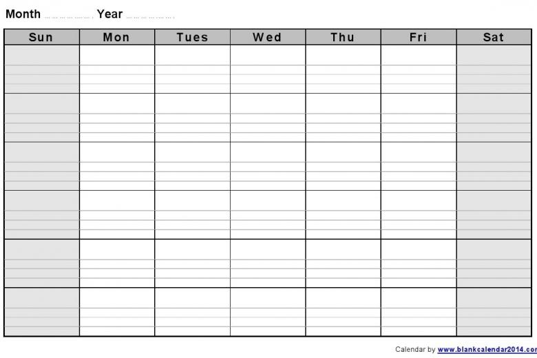 Best Photos Of 2 Week Blank Calendar 2 Week Blank Calendar  xjb
