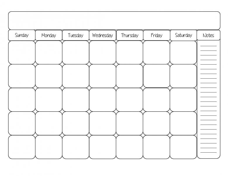 Calendar Templates Monthly Calendars And Monthly Calendar  xjb