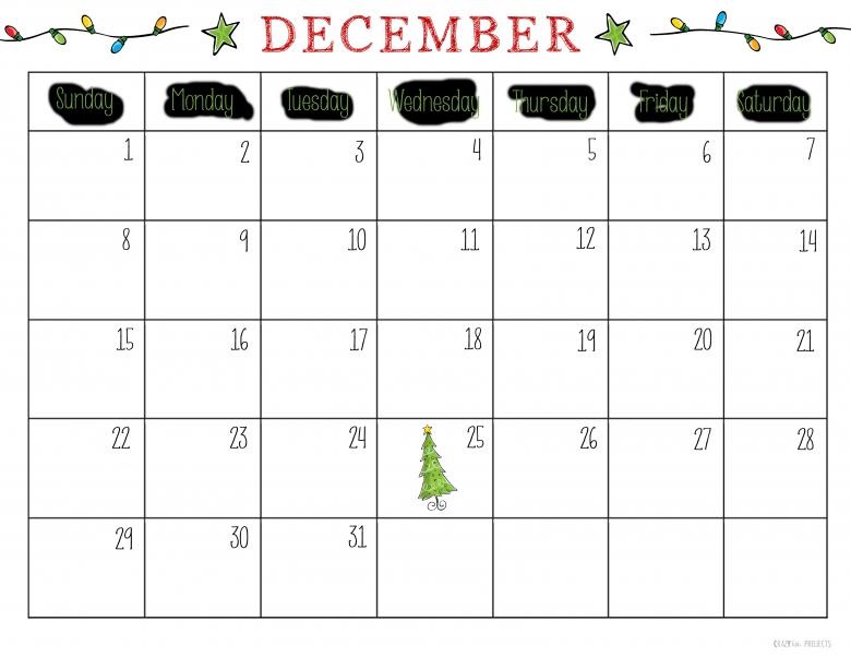 Free Printable Christmas Planner3abry