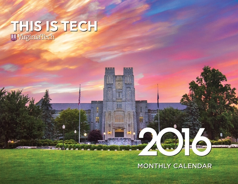Ivan Morozov Virginia Tech 2016 Calendar Available For Purchase  xjb