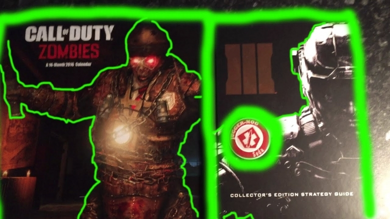 Zombies Strategy Guide Calendar Black Ops 3 Zombies Hand 89uj