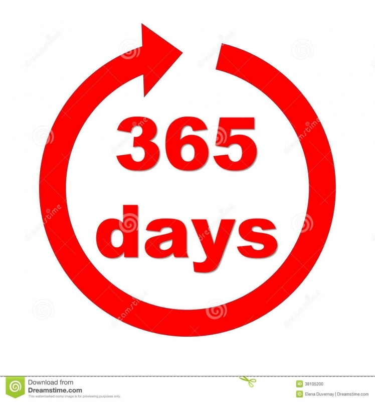 365 Number Days In A Year Symbol Stock Photo Image 60986341 89uj