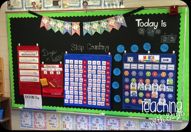 Calendar And Math Centers Teaching With Style3abry