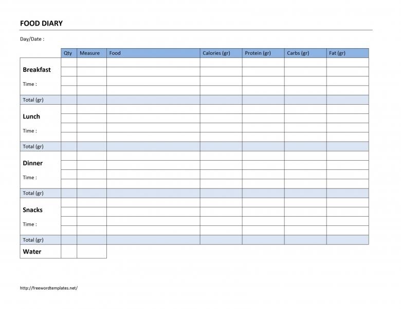 Word Activity Log Calendar