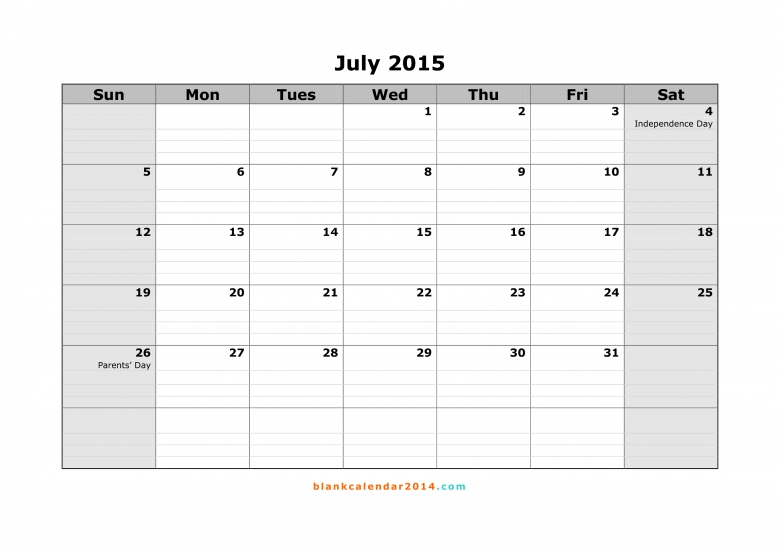 Lined Monthly Calendar : Printable lined calendar templates free template
