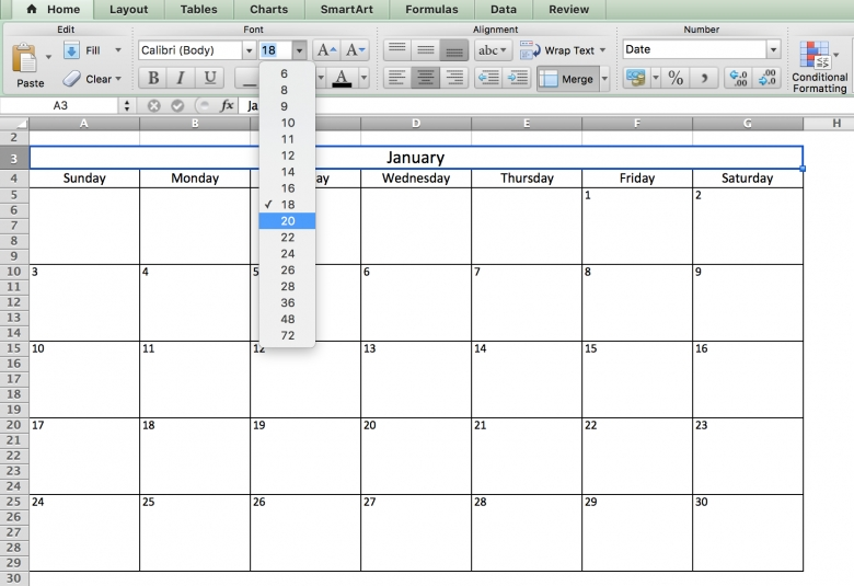 Monthly task calendar template free calendar template for Monthly task list template excel