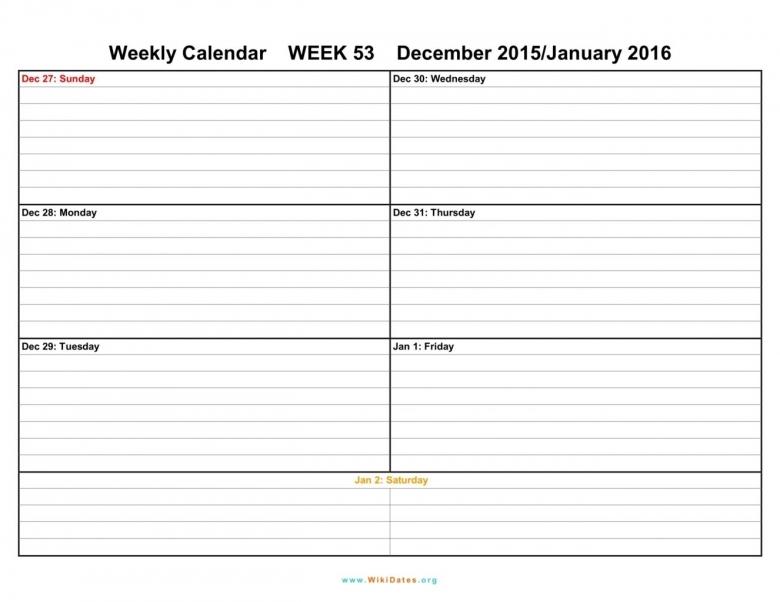 Weekly Printable Calendar Printable 2 Week Calendar Planner3abry