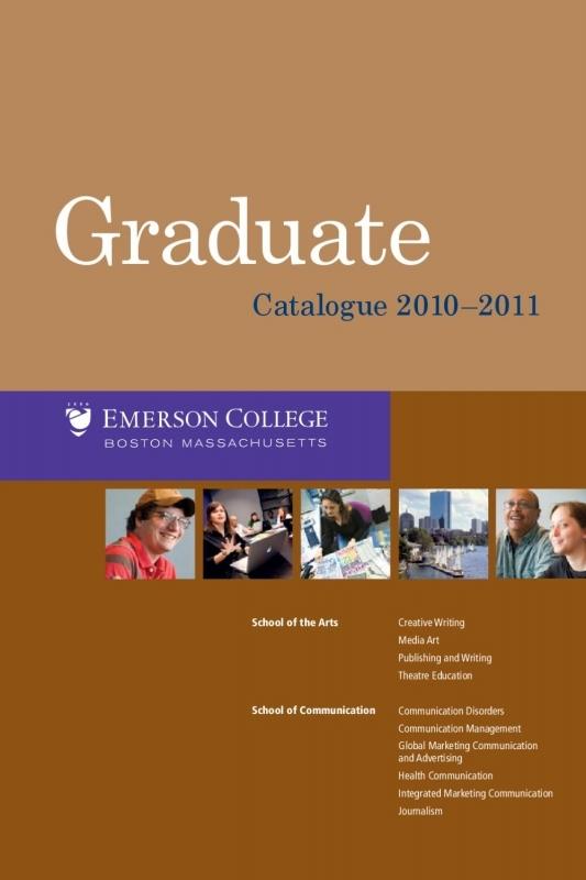 Academic Affairs Undergraduate Catalogue 2016 2017 Emerson 89uj