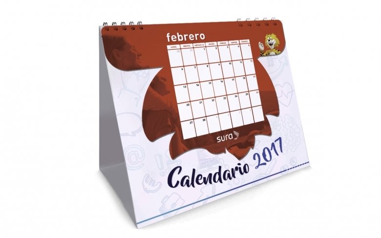 Calendario Sura 2017 Sebastin Reyes Gomez  xjb
