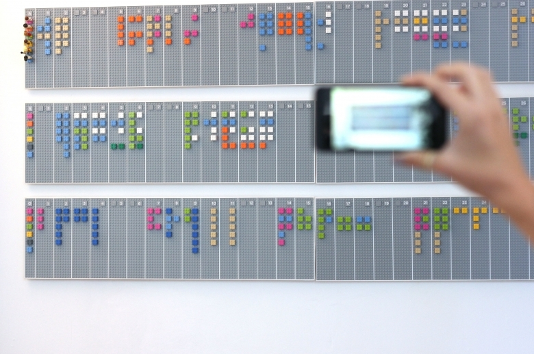 Lego Wall Planner Syncs With Your Google Calendar Account3abry