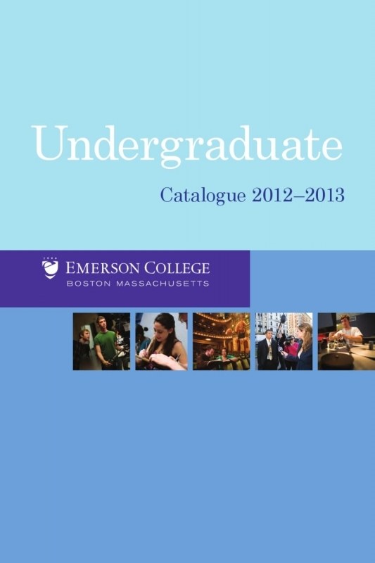 Undergraduate Catalogue 2014 2015 Emerson College Issuu 89uj