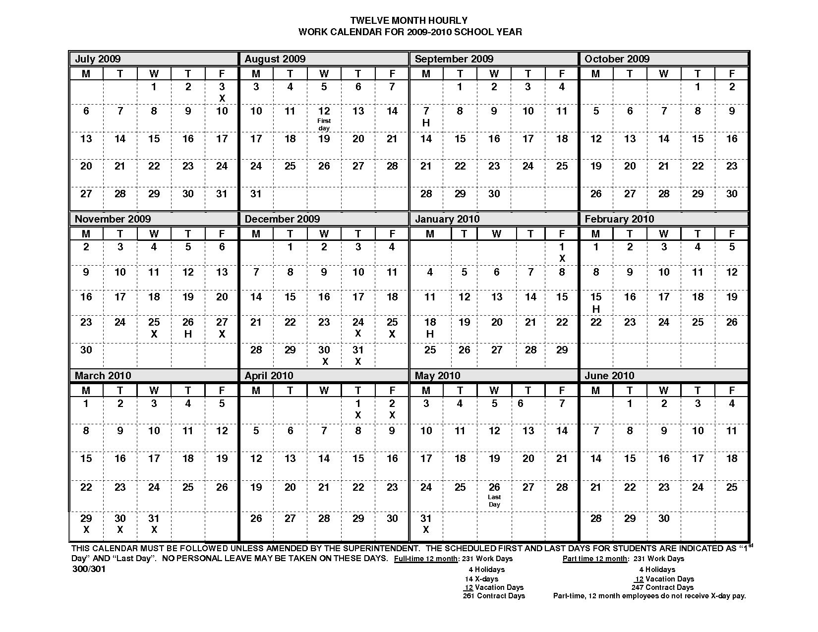 12 Months Calendar Template Yearly Calendar Printable3abry
