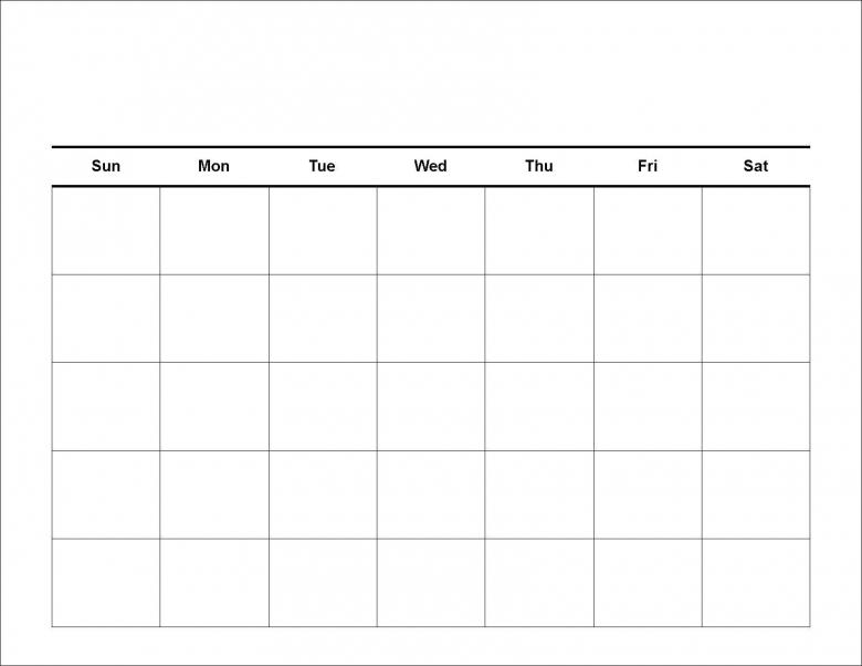 4 Weekly Calendar Weekly Calendar Template  xjb