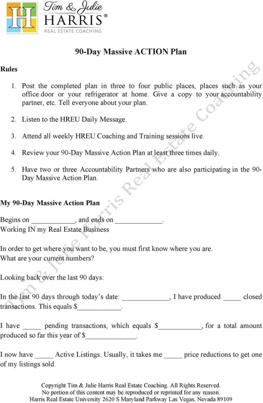 90 Day Massive Action Plan Pdf3abry