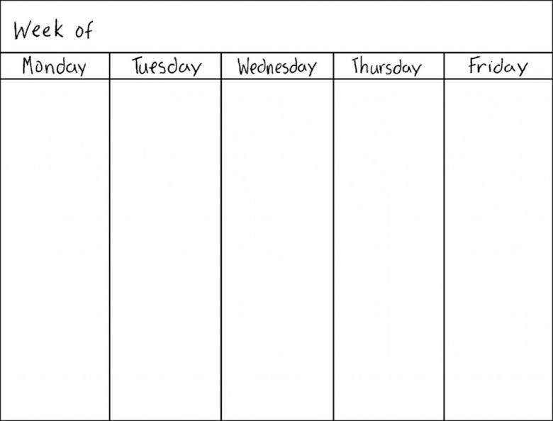 vacation schedule calendar template