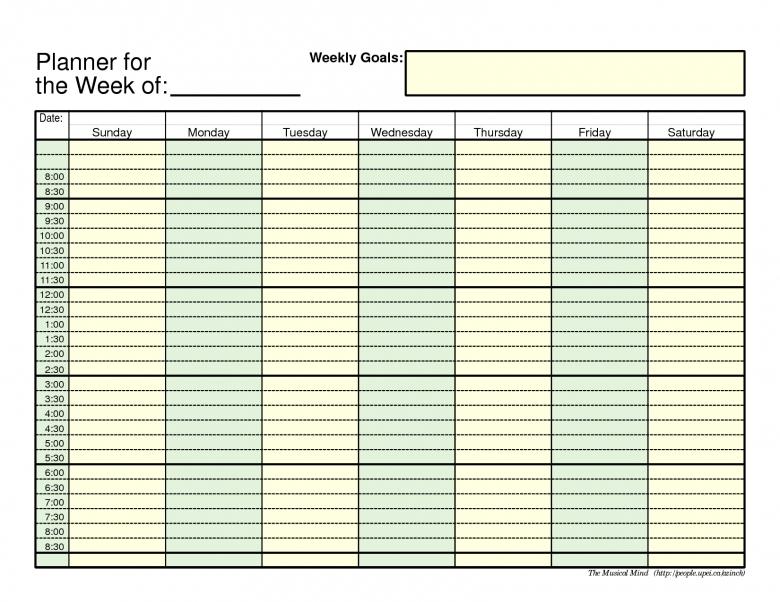 5 Day Calendar Template Excel Costumepartyrun