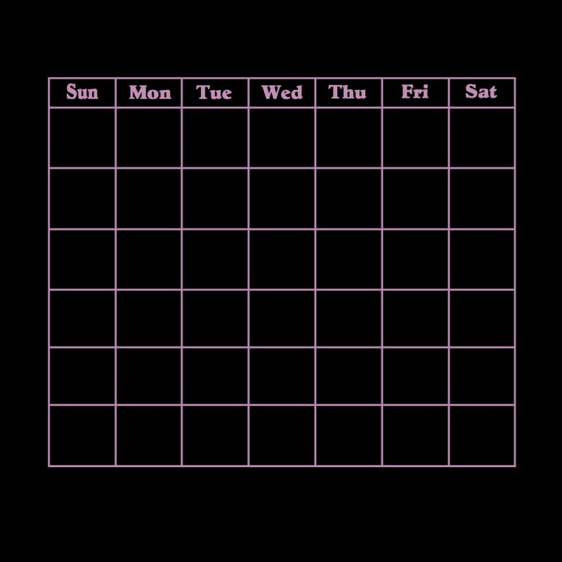 Blank Calendar 2013 2016 Blank Calendar Calendar En Www  xjb