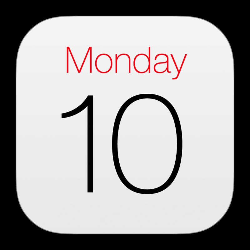 Calendar Official Icon Ios7 Style Iconset Iynque3abry