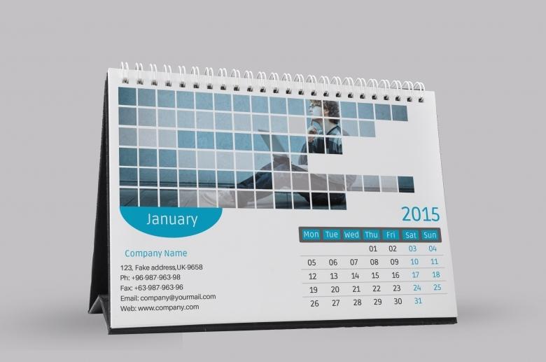 Desk Calendar Template Great Printable Calendars  xjb