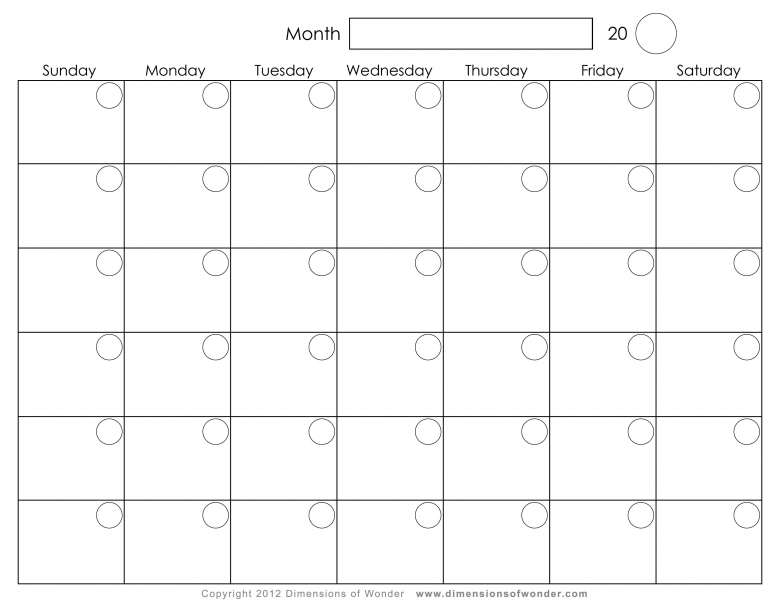 Free Monthly Calendar Layout Wall Calendar Office Depot3abry
