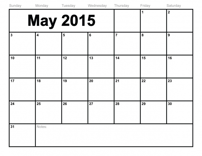 Free Printable Monthly Calendar 2015 Wanchopecostarica3abry