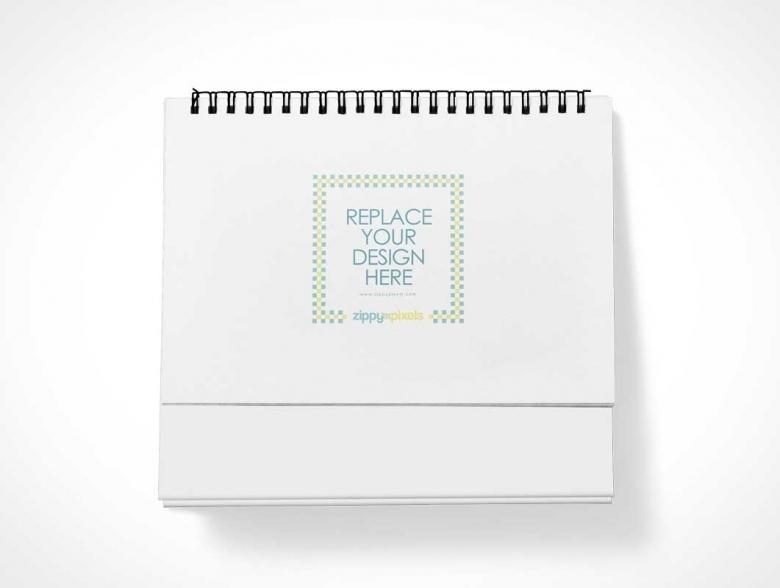 Table Calendar Mockup Free Download : Free calendar psd mock up template