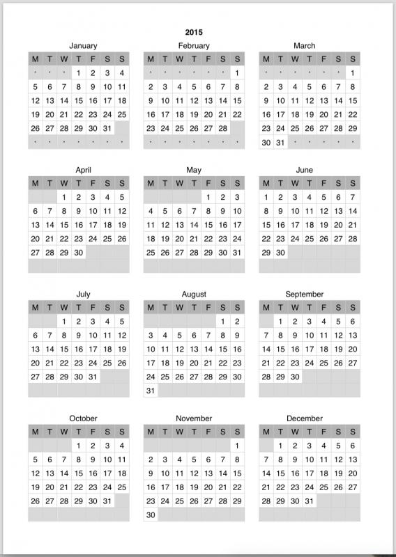 Printable 2017 Mini Calendar Template Calendar Template3abry