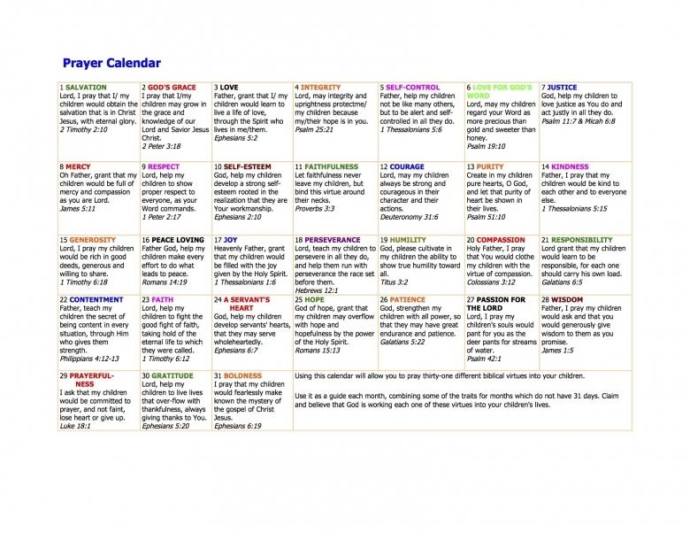 Your Prayer Calendar Proverbs 31 Woman  xjb