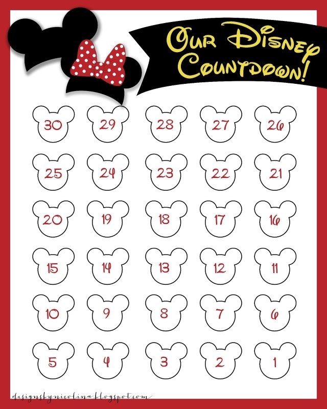 1000 Images About Disney Countdown On Pinterest Disney Each3abry