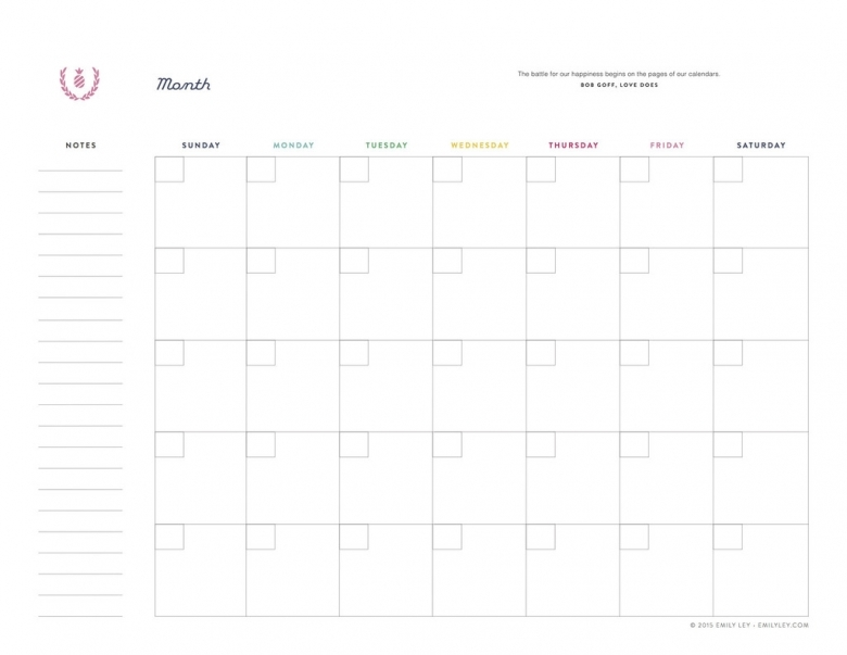 1000 Images About Undated Calendar Planner Printables On  xjb