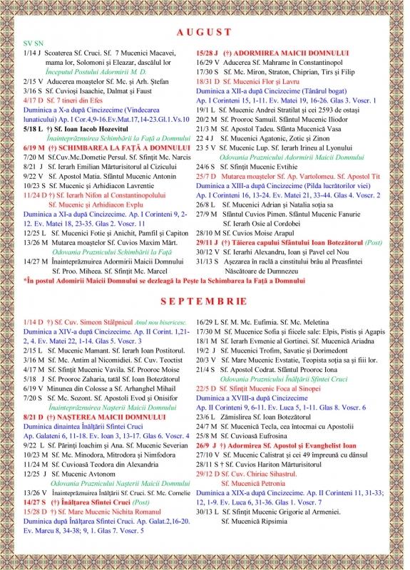 Calendar Crestin Ortodox De Stil Vechi 2014 Mitropolia Crestin 89uj